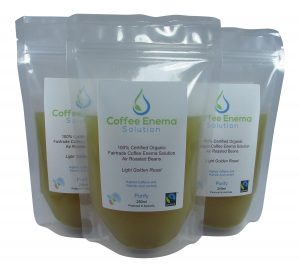 Image of Organic Coffee Enema Solution Gerson Therapy Pack by Enema Kits Australia