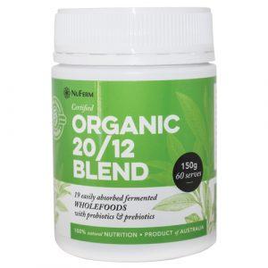 NuFerm – 20/12 Organic Powder Blend 150g