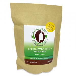 Coffee Grind with Tumeric - Coffee Enemas Aus